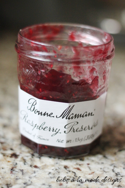Raspberry preserves for Raspberry Almond Cream Cheese Pastry
