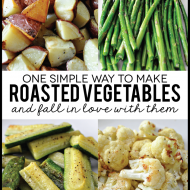 Easy Roasted Vegetables + Amazing Giveaway