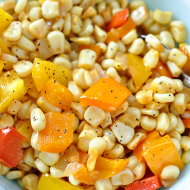 Healthy Side Dish: Peppers & Corn Medley
