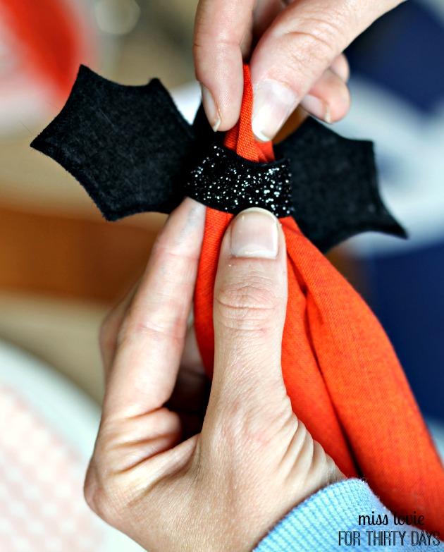 11 Bat Napkin Rings Tutorial