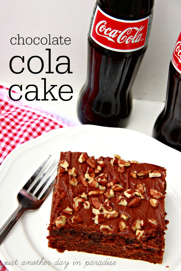 Chocolate Cola Cake main