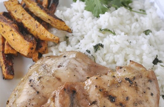Sweet and Tangy Marinated Grilled Chicken