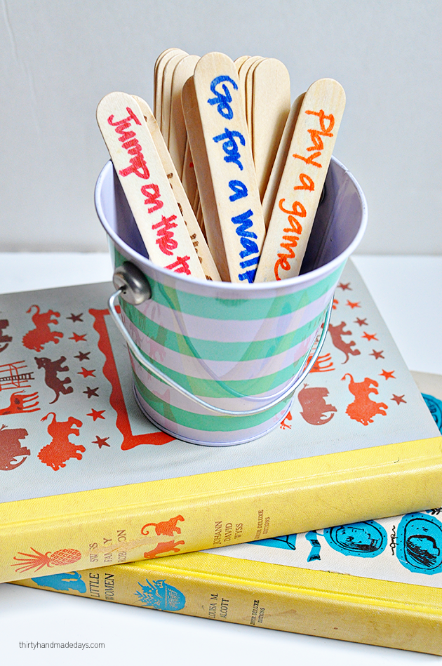 After school 1-2-3 : fun idea to keep the chaos to a minimum after school! | Thirty Handmade Days