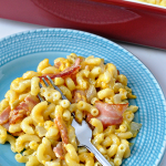 Bacon Macaroni and Cheese with a Kick! from Thirty Handmade Days