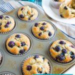 Banana Blueberry Muffins