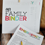 Get prepared in case of an emergency - Printable Emergency Checklist from www.thirtyhandmadedays.com