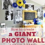Giant Photo Wall from Tidy Mom