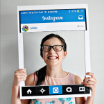 Fun Teen/Adult Halloween Costume: DIY Instagram Board