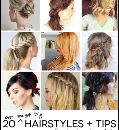 Over 20 amazing must try hairstyles!