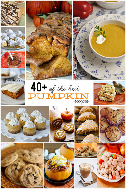 40+ of the best Pumpkin Recipes