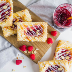 Raspberry Cream Cheese Danish - making your own is a lot easier than you think. And so delicious!