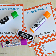 """You're the Balm"" Halloween Printables"