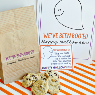 You've Been Boo'ed Halloween Printable Set
