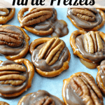The Easiest 3 Ingredient Turtle Pretzels