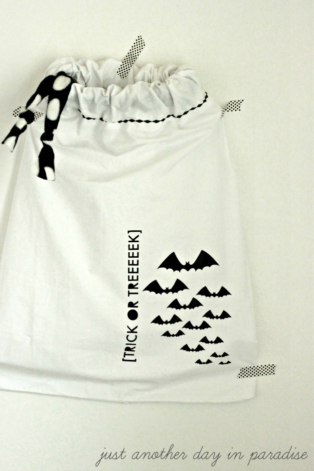 Pillow Case Trick or Treat Bag 2 b