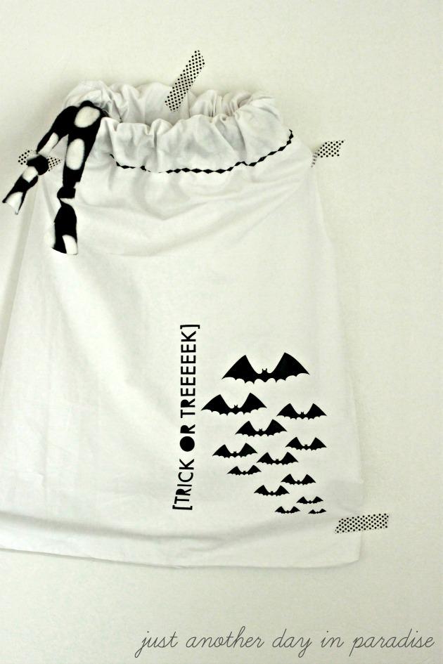 Pillow Case Trick or Treat Bag 2 b