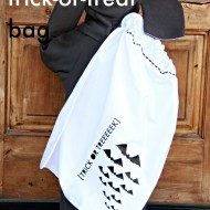Pillow Case Trick or Treat Bag