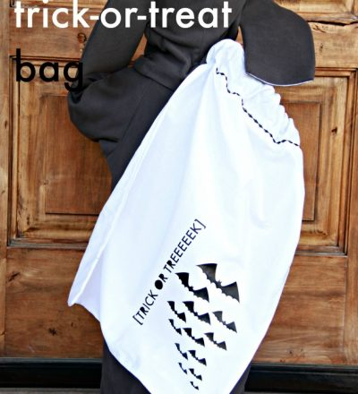 Pillow Case Trick or Treat Bag a