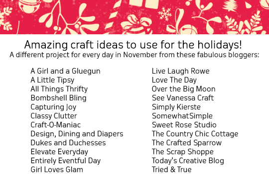 A Holiday Series: Bake Craft Sew