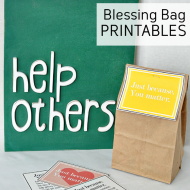 Printables for Blessing Bags