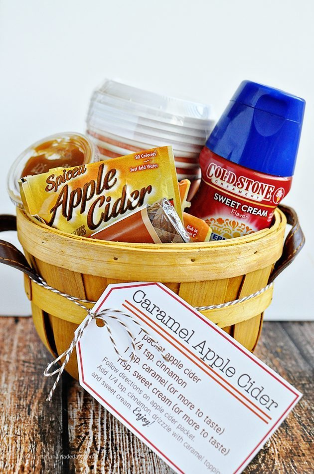 Perfect for fall - Caramel Apple Cider Kit with Printables | Thirty Handmade Days