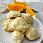Super duper tasty Frosted Orange Cookies - a family favorite for years and years!