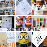 25+ Last Minute Halloween Ideas - printables, treats, DIY and crafts, costumes and more www.thirtyhandmadedays.com