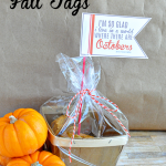 Printable Fall Tags