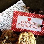 Christmas Cookie Exchange Printables from Sweet Rose Studio for Bake Craft Sew
