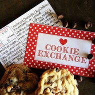 Christmas Cookie Exchange Printables