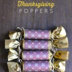 DIY Thanksgiving Popper - super cute holiday idea to use with family and friends.
