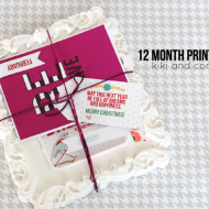 Holiday Gift Idea: 12 Month Print Present