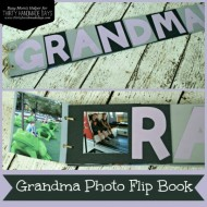Grandma Holiday Gift Idea: Photo Flip Book