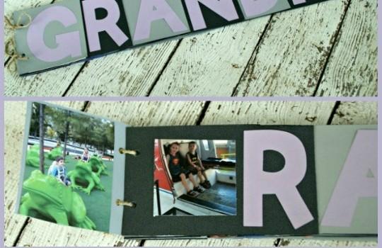 Grandma Holiday Gift Idea: Photo Flip Book