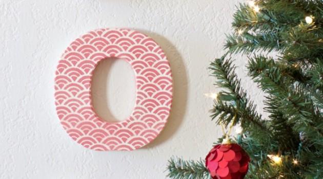 Embellished Joy Letters
