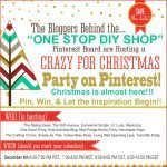 Crazy for Christmas Pinterest Party + Giveaway