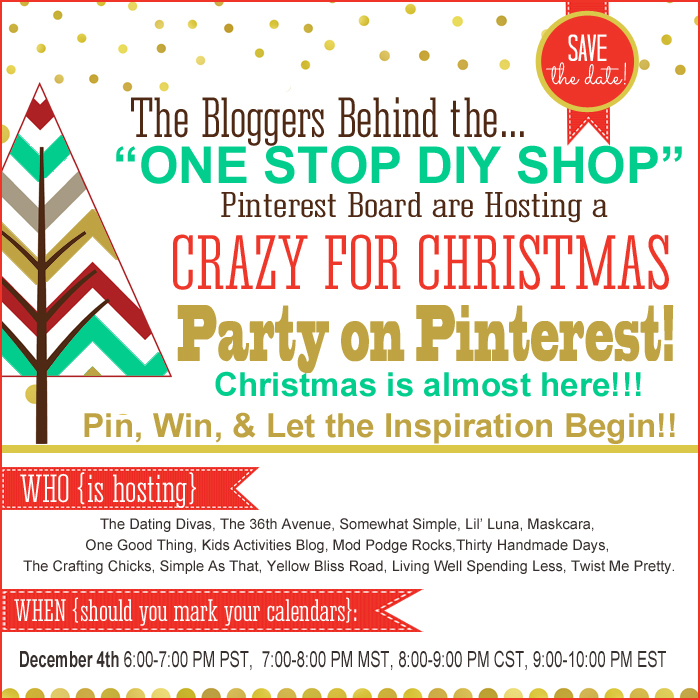Save The Date for the Party on Pinterest