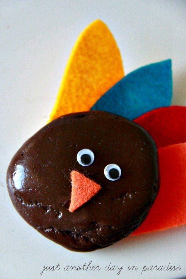 Rock Turkey Craft 4