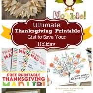 Ultimate Thanksgiving Printables to Save Your Holiday
