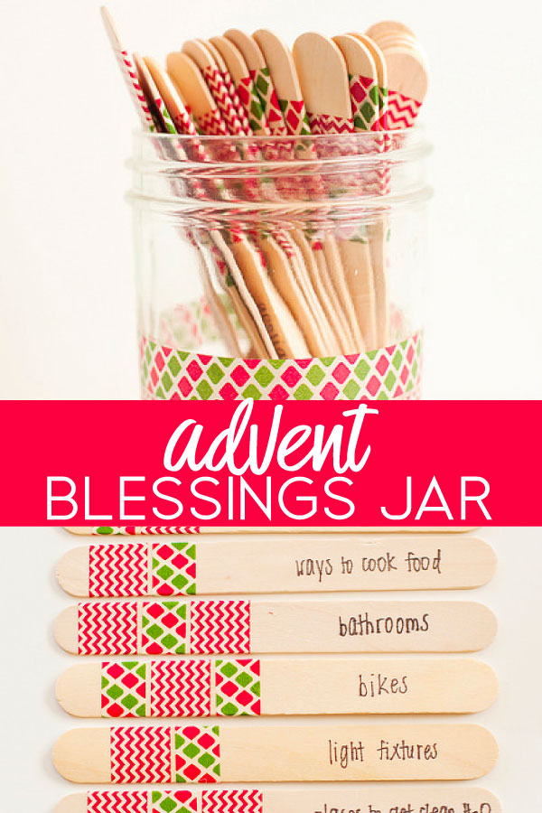 Advent Blessing Jar An Alternative To The Traditional Advent Calendar Awesome Idea For Kids And Families