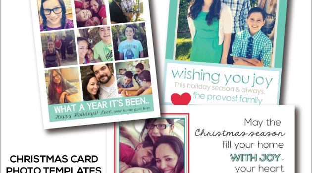 Holiday Photo Card Templates