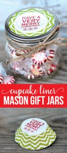 Mason Jar Gift Ideas - super cute idea for a Christmas present. www.thirtyhandmadedays.com