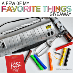 Holiday Gift Guide + My Favorite Things Giveaway