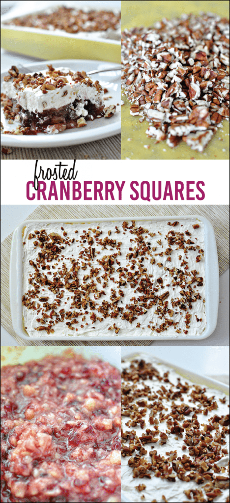 My most favorite holiday dish of all time - Frosted Cranberry Squares www.thirtyhandmadedays.com