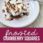 Frosted Cranberry Salad- a Thanksgiving tradition and family favorite. www.thirtyhandmadedays.com