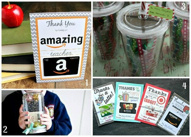 Teacher Gifts - Gift Cards