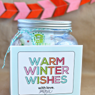 Hot Chocolate Kit with Printable