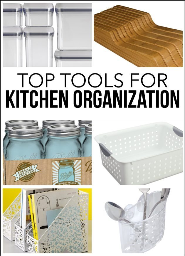 Top tools for kitchen organization