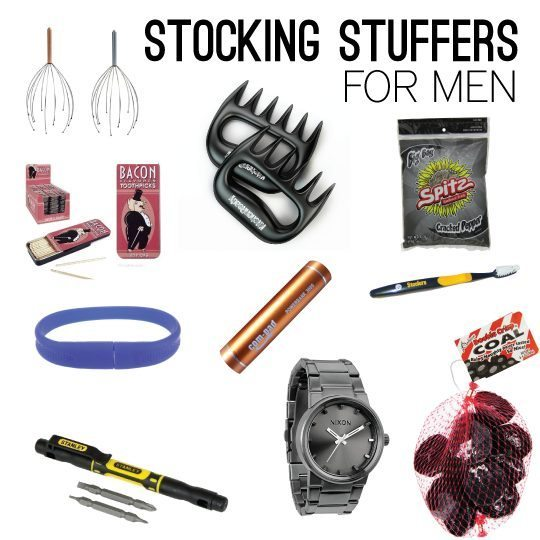 Cool ideas for stocking stuffers for men!