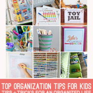 Top Organizing Tips for Kids